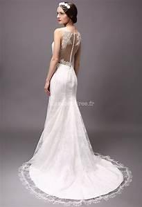 Robe de mariee avec manches fermeture boutons dos dentelle for Robe de mariée dentelle dos