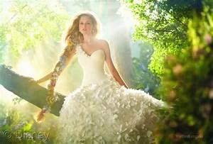 disney inspired princess wedding dresses from alfred With disney inspired wedding dresses