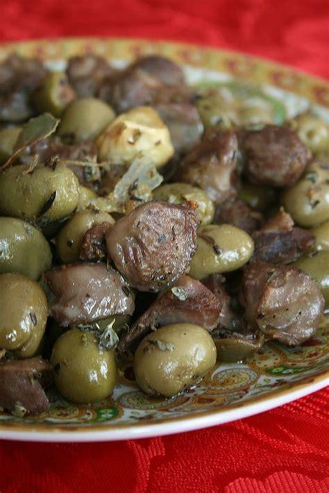 recette de cuisine juive gésiers de volailles aux olives recette juive