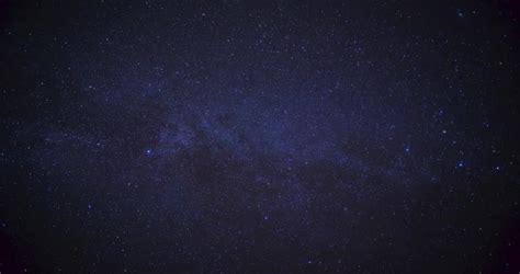 Stars Space Milky Way Galaxy Time Lapse 4k Stock