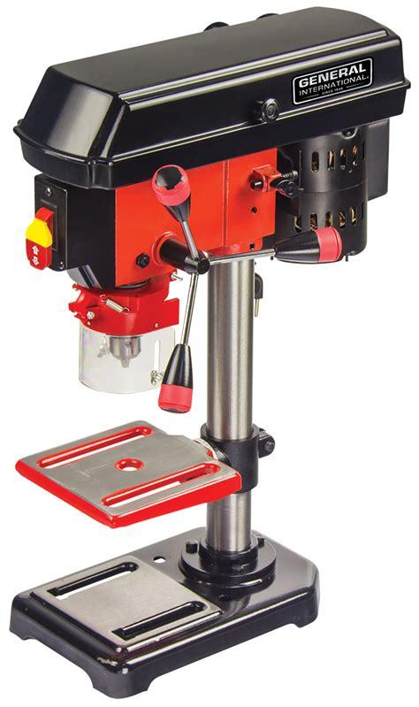 general international   speed  bench mount drill