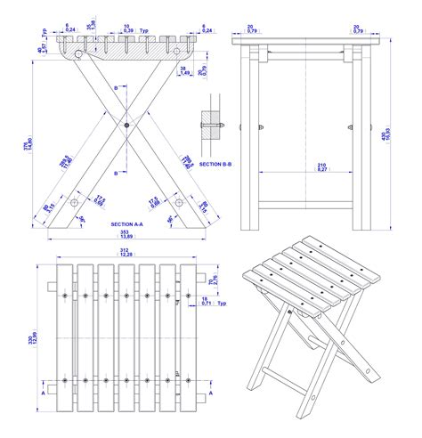 build diy folding wood stool plans  plans wooden diy