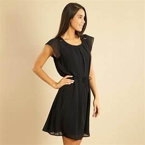 robe courte fluide femme noir kiabi 2200eur With robe courte fluide