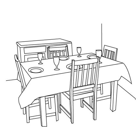 dining room clipart black and white dining table clipart black and white hd letters