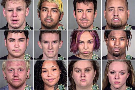 Bizarre mugshots released after nearly 200 arrested ...