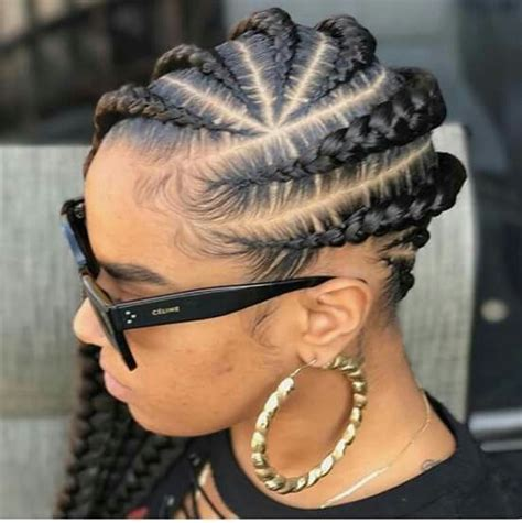 Braided Hairstyles And Creative by Lovely Creative Braided Hairstyle For Black Fashion 2d