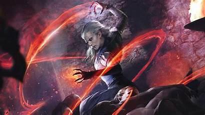 Elder Scrolls 4k Sorcerer Legends Clan Wallpapers