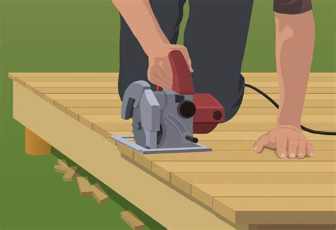 diy ways to level up your small bedroom steps to build a ground level deck at the home depot 15   simple steps to build ground level deck HT PG LC step 08