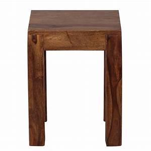 Beistelltisch Holz Massiv : massiver beistelltisch holz massiv 35cm kleiner wohnzimmertisch couchtisch ebay ~ Indierocktalk.com Haus und Dekorationen