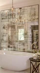 deco avec miroir mural fashion designs With deco mur exterieur maison 3 le miroir mural grande taille accessoire pratique et
