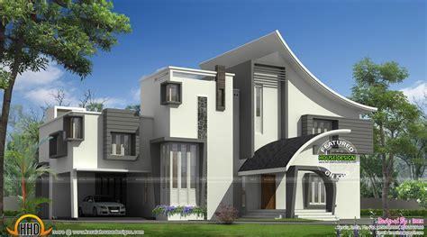 ultra modern luxury home  kerala kerala home design