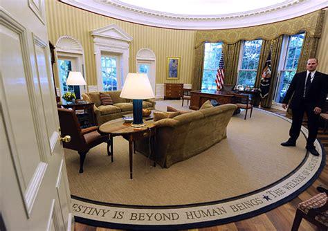 president obama installs appropriately  optimistic rug