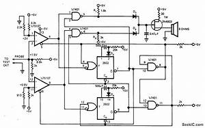 Listen To Logic - Basic Circuit - Circuit Diagram