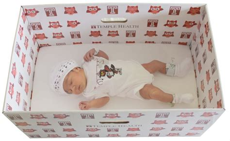 size matress temple hospital to provide free baby boxes to