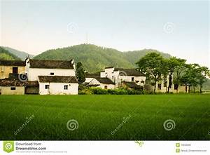 Village In South China Countryside Stock Image - Image ...