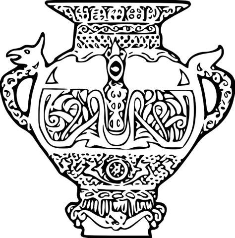 viking vase clip art  clkercom vector clip art