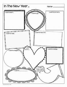 happy new year goal setting activity for students a fun With smart goal worksheet template