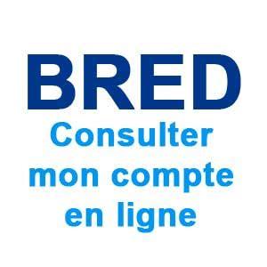 www bred fr consulter mon compte en ligne bred