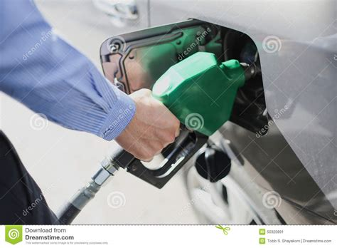 Fill The Gas Tank Stock Image. Image Of Fuel, Closeup