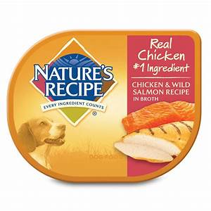 Nature's Recipe Adult Dog Food Trays, Chicken & Salmon Petco