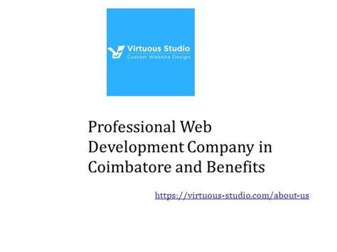 Professional Web Development Company In Coimbatore