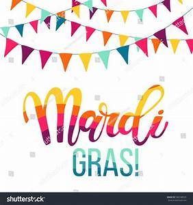 mardi gras lettering colorful flags stock vector 586748525 With mardi gras lettering