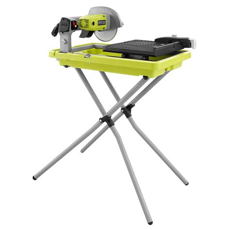 ryobi tile saw ryobi 7 in 1 3 4 hp overhead tile saw with stand