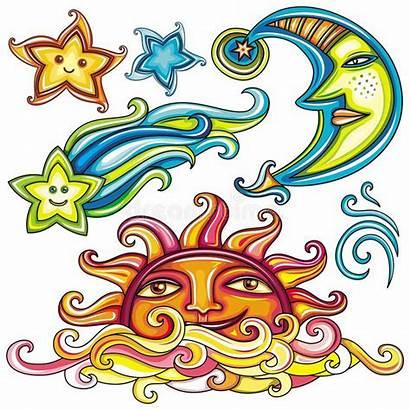 Celestial Symbols Vector