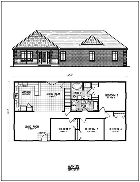 Ranch Floor Plan All American Homes Floorplan Center Staffordcape Mynexthome Ranch Style