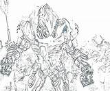 Flood Coloring Halo Pages Getcolorings Master Chief Getdrawings sketch template