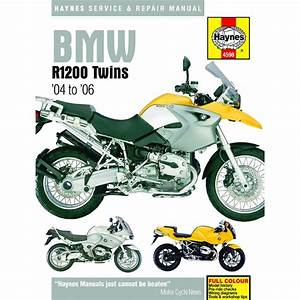 Aw Motorcycle Parts  Haynes Manual 4598 Bmw R1200 04