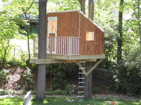 awesome  simple tree house  great   note
