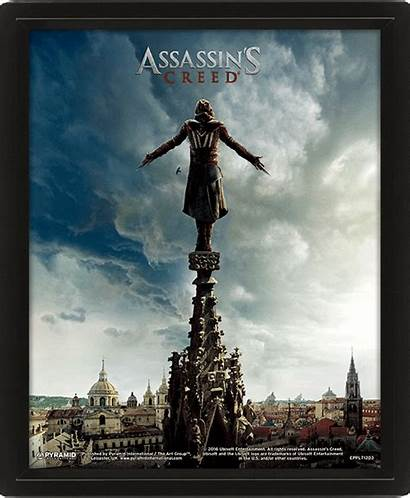 Ac Lenticular 3d Posters Creed Assassin Poster