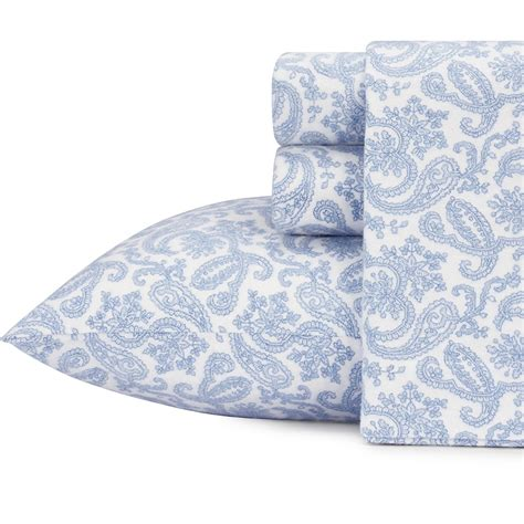 paisley sheets laura ashley fulham paisley flannel sheet set from beddingstyle com