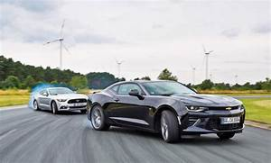 Ford Mustang Kosten : chevrolet camaro 6 2 v8 ford mustang gt test ~ Jslefanu.com Haus und Dekorationen