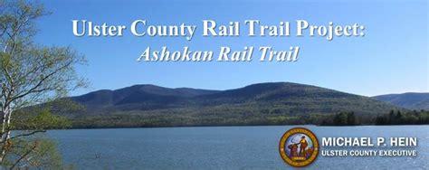 ashokan rail trail project ulster county