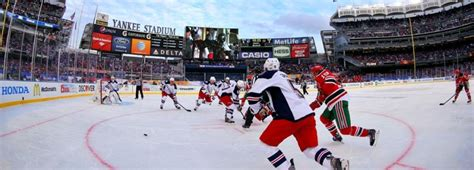 nhl outdoor series in 2014 tba