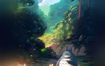 Totoro Anime Neighbor 4k Xing Liang Desktop