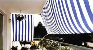 sichtschutz balkon mit sonnensegeln balkonumrandung With garten planen mit senkrechte markisen für balkon