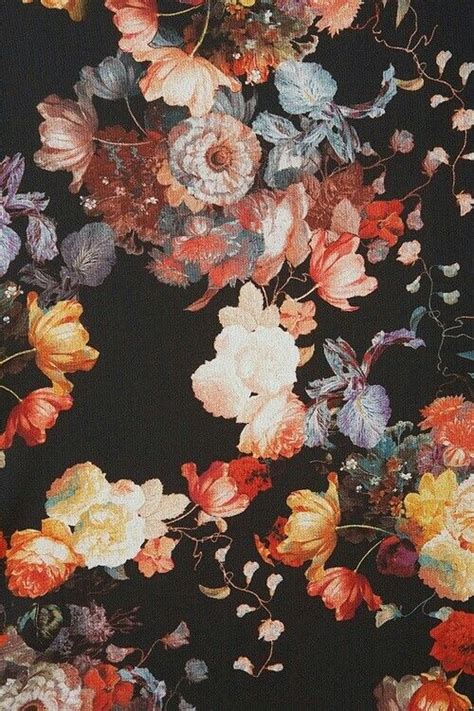 the 25 best black floral wallpaper ideas on