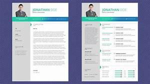 Free Professional Resume Template - Magic Color Pro