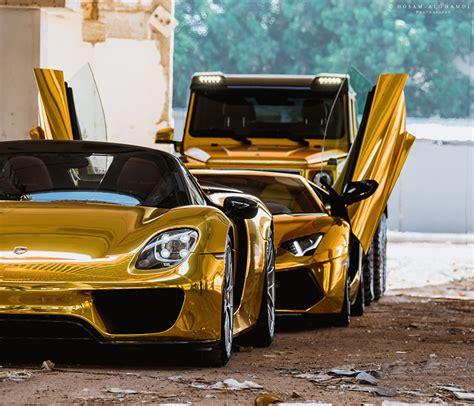 gold porsche truck wallpaper porsche lamborghini mercedes benz 918 aventador