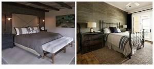 Deco Melange Rustique Et Moderne : deco chambre a coucher champetre ~ Melissatoandfro.com Idées de Décoration