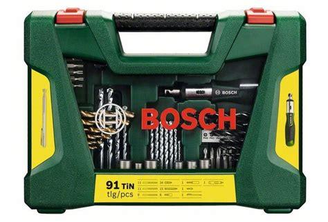 Bosch V-line Tin-bohrer- Und Bit-set, 91-teilig, Ratschen