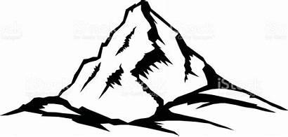 Mountain Clipart Everest Mount Clip Peak Mountains