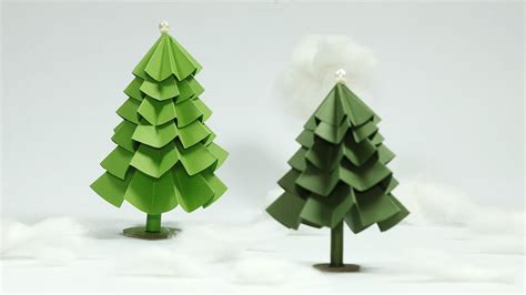paper christmas tree craft diy christmas tree tutorial