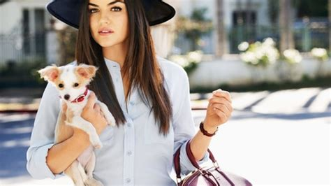 lucy hale-puppy singer beautiful model hat