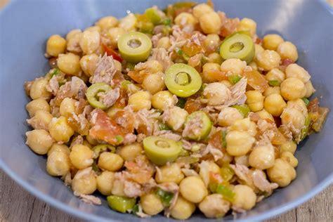 Receptes d'estiu: Amanida de cigrons