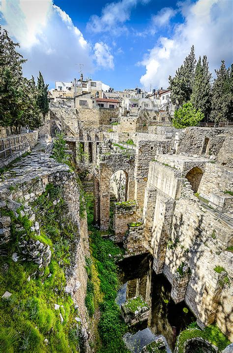 Pool of Bethesda Photograph by David Morefield