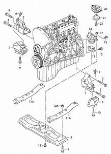 2012 Volkswagen Crafter Europe Market  Engine Mounting